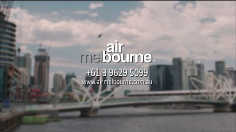 Air Melbourne operates the service, now Heli-Express, in Agusta 109 aircraft on the Yarra River.