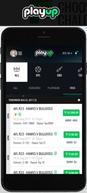 PlayUp - Global Sports Fantasy
