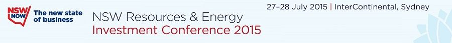 NSW Resources and Energy Conference Sydney July 2015