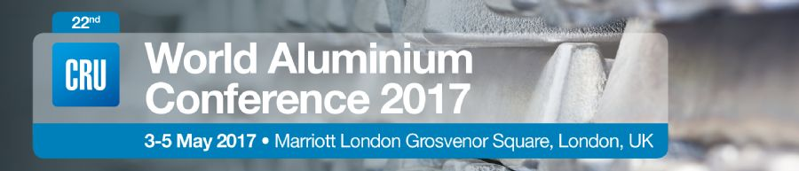22nd World Aluminium Conference 2017