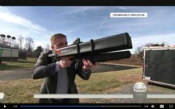 DroneGun as appearing on NBC's Today show