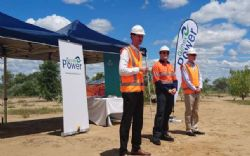 Queensland Energy Minister Mark Bailey, Genex Chairman Dr. Ralph Craven, and CEO of ARENA Ivor Frischknecht.