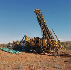 RC Drilling begins on site