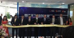 Figure 1: Official launch of RooLife on 24 March 2017 in Guangzhou with participants Mr Du (Guangzhou Government representative), Mr Xiu (CEO Dodoca), Mr Huang (Chairman Dodoca), Mr Mark Vaile (Chairman SMA), Mr Bryan Carr (CEO SMA) and Mr Brendan Mason (COO SMA).