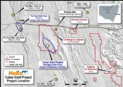 Location of the Cobar Gold Project