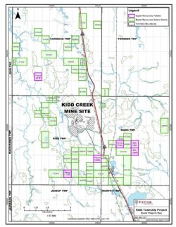 Kidd Township Project Explor Property Map