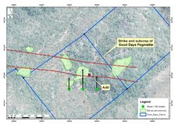 Good Days Lithium Project - Initial Drilling Plan
