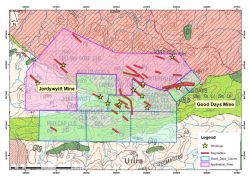 Local Geology of Good Days Li Project