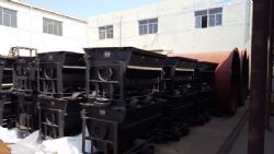 Images of some mining recent equipment produced at the Yantai production facility.