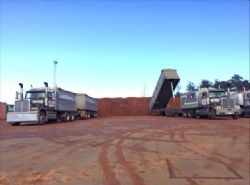 Delivery to Bell Bay Port Stockpile