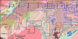 The Sisters Project Regional geology and mineral occurrences (Minedex)