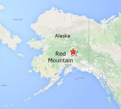 Red Mountain Project is located in central Alaska