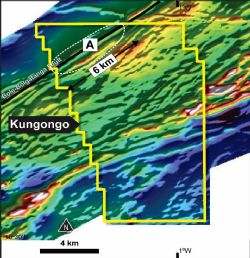 Kungongo ‐ Drill Target Over Magnetics