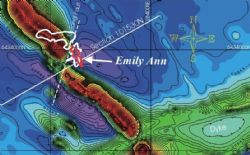 Emily Ann nickel deposit relative to aeromagnetic data