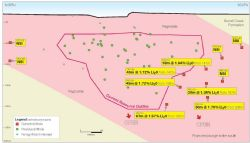 Grants Lithium Deposit and new extension drill intersections within Core's 100%-owned Finniss Lithium Project