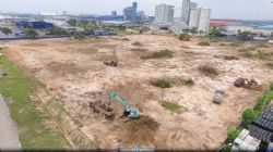 Completion of site clearance work at the Johor HPA site