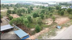 Johor HPA plant site before clearing work commenced
