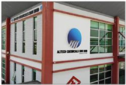Altech Johor office, 300m from site