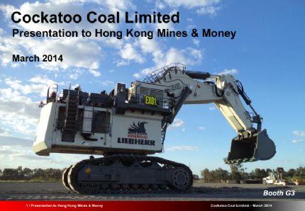 Cockatoo coal limited