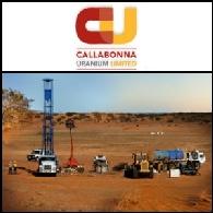 Callabonna Uranium ASX:CUU