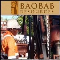 Baobab Resources Plc (LON:BAO) Conclusão do Programa Mensurado de Perfuração de Recursos de 2013 e Resultados Preliminares de Vala