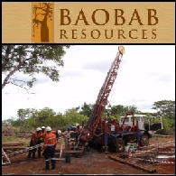 Baobab Resources Plc (LON:BAO) Resultados Iniciais de Perfuração Apontam para Maior Qualidade à Entrada e Menores Custos Operacionais