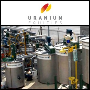 2010年8月30日澳洲股市:Uranium Equities (ASX:UEQ)巩固在Frome盆地的地位