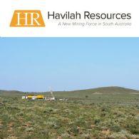 Havilah Resources Ltd (ASX:HAV)截至2017年10月31日期间的季度活动报告