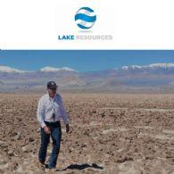 Lake Resources NL (ASX:LKE) 在Kachi盐湖卤水锂矿项目进行卤水钻探