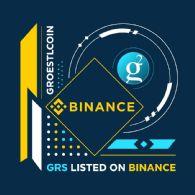 加密货币交易平台币安 (CRYPTO:BNB) 上市 Groestlcoin (CRYPTO:GRS)