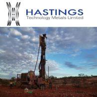 Hastings Technology Metals Ltd (ASX:HAS) 获得$1370万的确定融资承诺