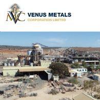 Venus Metals Corporation Limited (ASX:VMC) Youanmi矾矿项目冶金试验最新进展