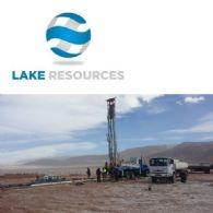 Lake Resources NL (ASX:LKE) 将于10月初开始对Cauchari锂矿项目进行钻探