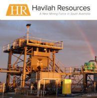 Havilah Resources Ltd (ASX:HAV) 截至2017年1月31日的季度活動報告