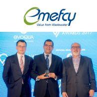 Emefcy集團 (ASX:EMC) 被評為2016年度水技術突破公司 繼續致力於拓展中國市場