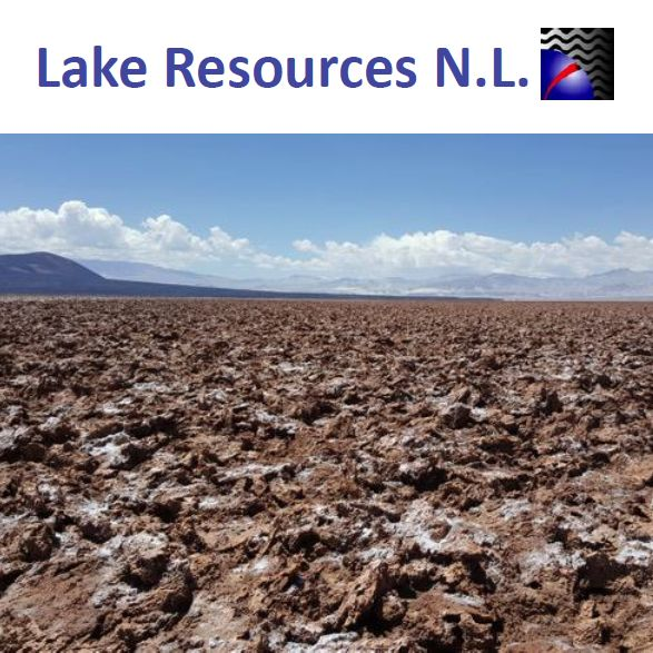Lake Resources NL (ASX:LAKE) 2017年一季度活動報告