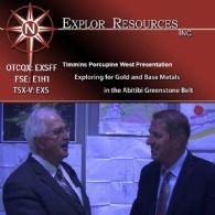 財經視頻:Explor資源股份有限公司 (CVE:EXS) 主席兼首席執行官在阿比提比綠岩帶接受亞洲財經新聞採訪