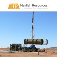 Havilah Resources Ltd (ASX:HAV)股權發行 - 認購未足通知