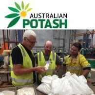 Australian Potash Ltd (ASX:APC) 澳大利亞首次用鹽田蒸發法制取硫酸鉀