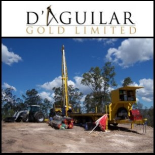 D'Aguilar Gold Limited (ASX:DGR) Quarterly Report June 2010