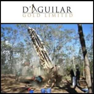 D'Aguilar Gold Limited (ASX:DGR) Announce High Order Gold Anomalies Identified By Mt Isa Metals Limited (ASX:MET)