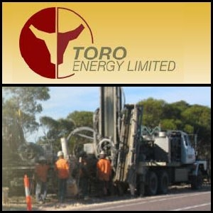 Toro Energy Limited (ASX:TOE) Commences Uranium Drilling In Namibia