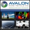 Avalon Rare Metals Inc. (TSE:AVL) (NYSE MKT:AVL) Releases Second Sustainability Report
