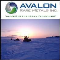 Avalon Rare Metals (TSE:AVL) 