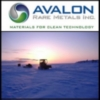 Avalon Rare Metals Inc. (TSE:AVL)(NYSE Amex:AVL) Announces Senior Management Changes