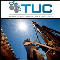 Territory Uranium Company Limited (ASX:TUC)