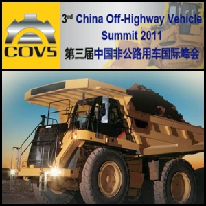 3rd China Off-Highway Vehicle Summit 2011 To Be Held In January In Beijing