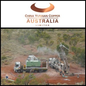 Australian Market Report of January 7, 2011: China Yunnan Copper Australia (ASX:CYU) Discovered Significant Heavy Rare Earth Element in Queensland