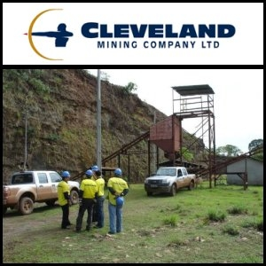 Cleveland Mining Company Limited (ASX:CDG) Announce Significant Drilling Results at O Capitão Gold Project