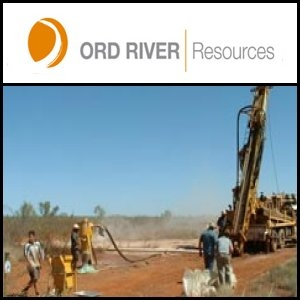 Asian Activities Report for June 2, 2011: Ord River Resources (ASX:ORD) Signed Engineering, Procurement and Construction Memorandum with NFC (SHE:000758)
